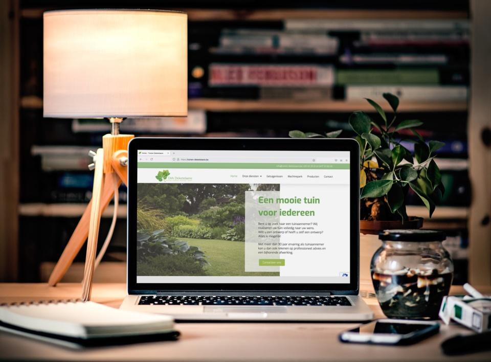"""Featured image for """"Website voor Tuinen Deketelaere"""""""