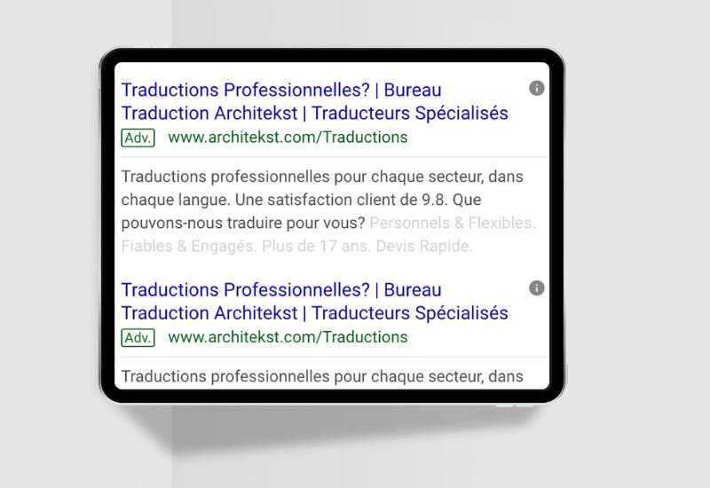 "Featured image for ""Google Ads voor Architekst"""